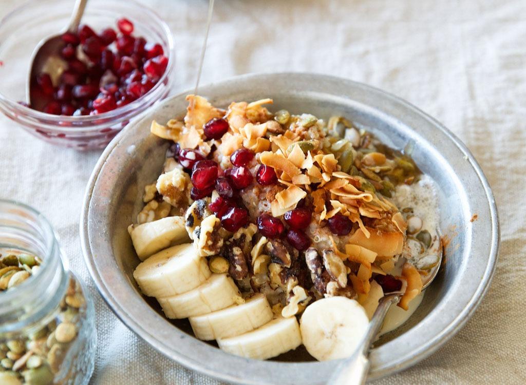 Oatmeal Quinoa Power Bowl