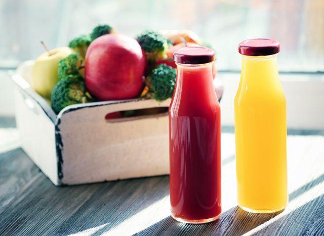 Juice cleanse bottles