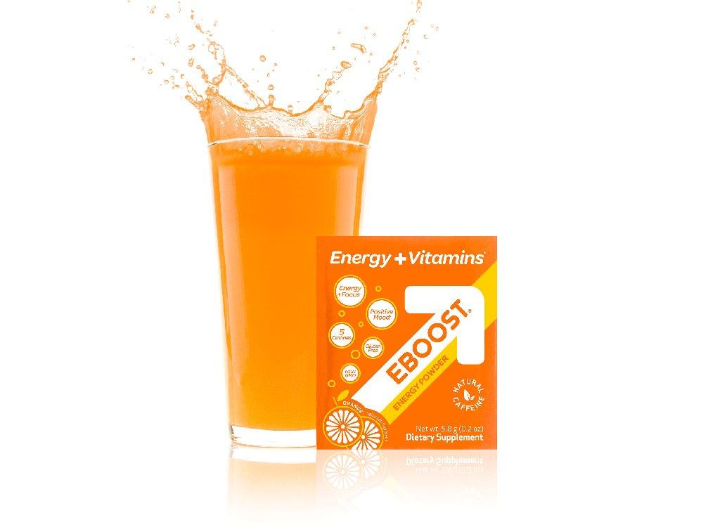 eboost natural orange package cup