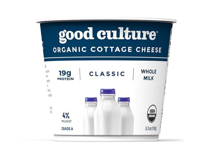 Good culture organic plain cottage cheese