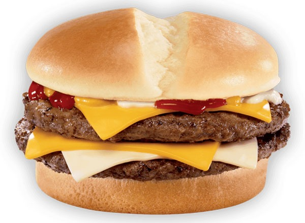 Fast food burgers ranked Jack in the Box Ultimate Cheeseburger