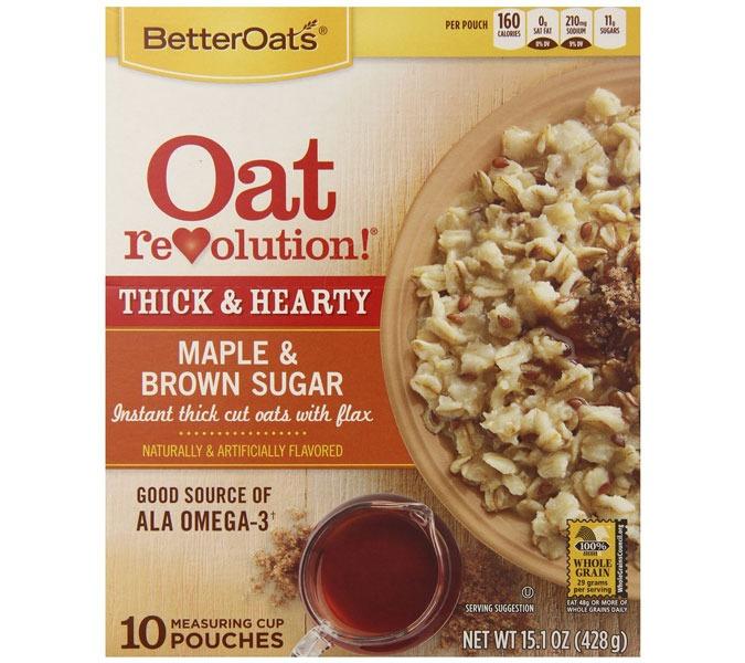 ETNT Low Sugar BetterOats Oatmeal