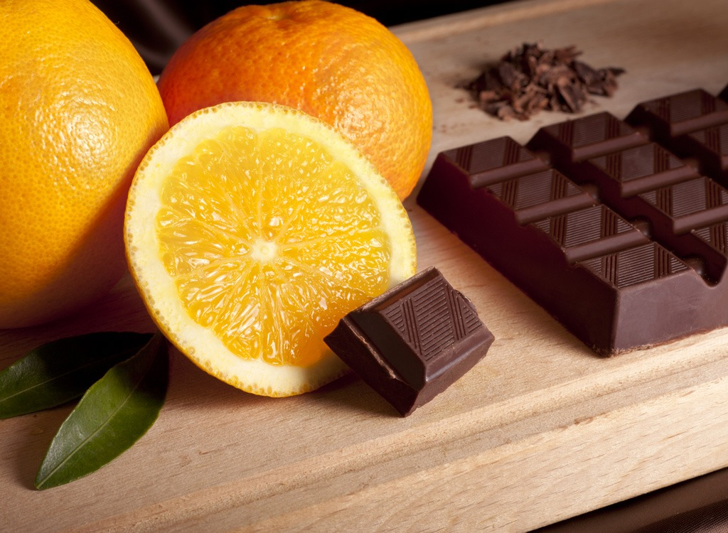 Chocolate and orange