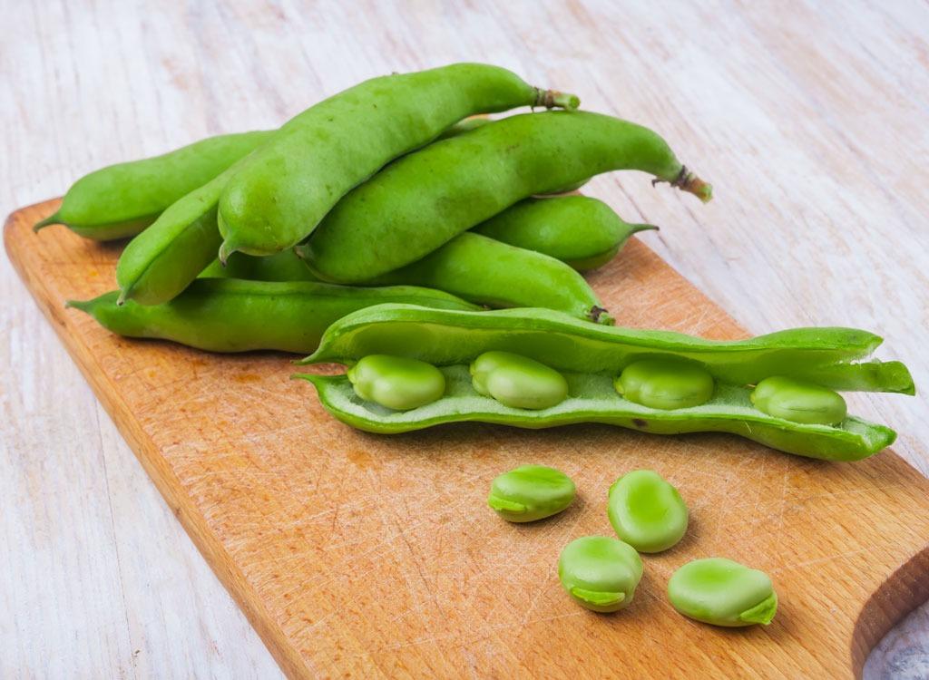 Spring foods fava beans
