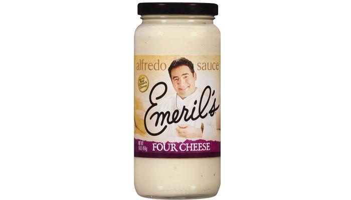 Emeril's four cheese alfredo sauce