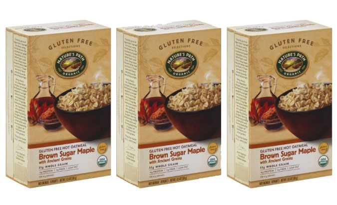 ETNT Low Sugar Natures Path Oatmeal