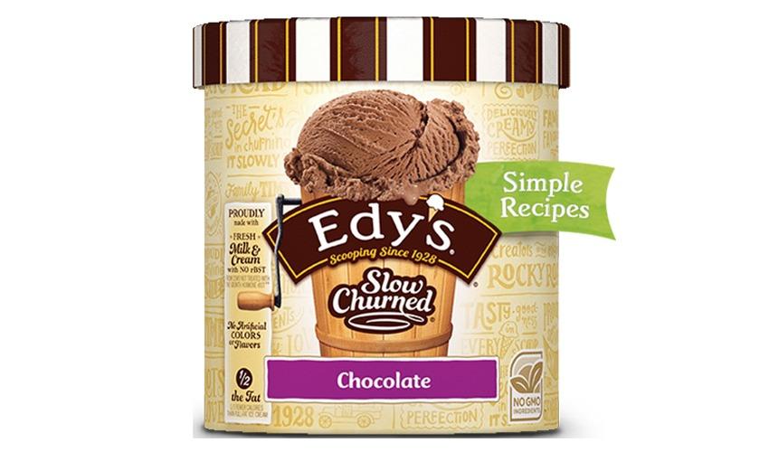 edys slow churned chocolate ice cream