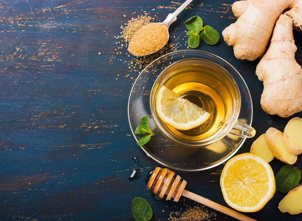 Bikini body ginger tea