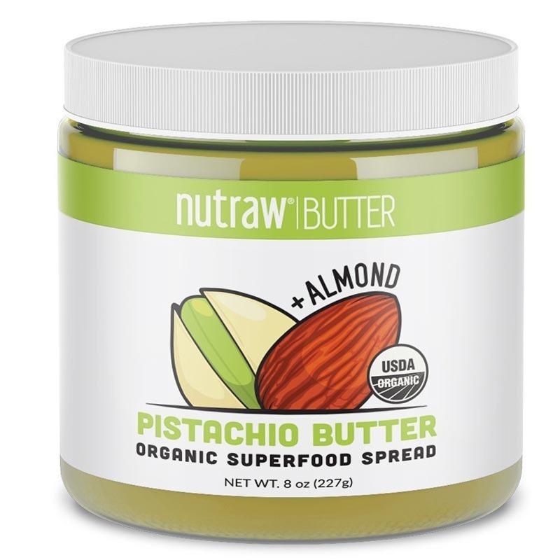 nutrawbar 100% raw pistachio + almond butter