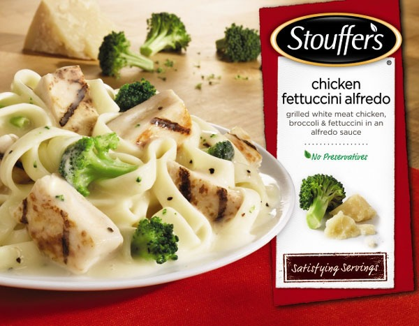 Stouffers chicken alfredo