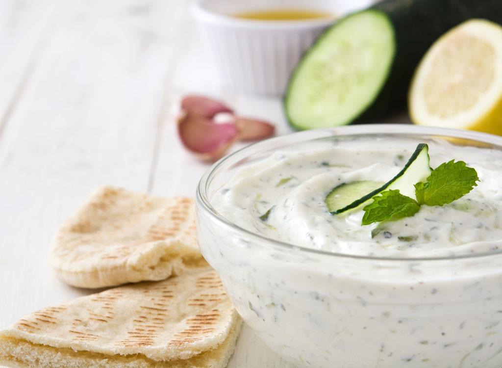 Greek yogurt based dip