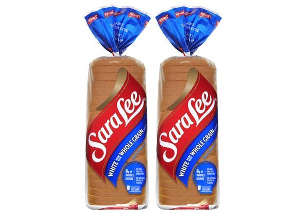sara lee soft & smooth  white made with whole grain bread