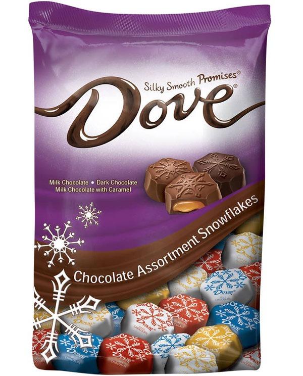 DOVE SNOWFLAKE PROMISES CHOCOLATE ASSORTMENT