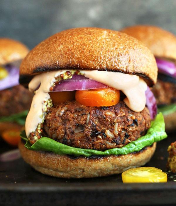 Pulse recipes veggie burgers