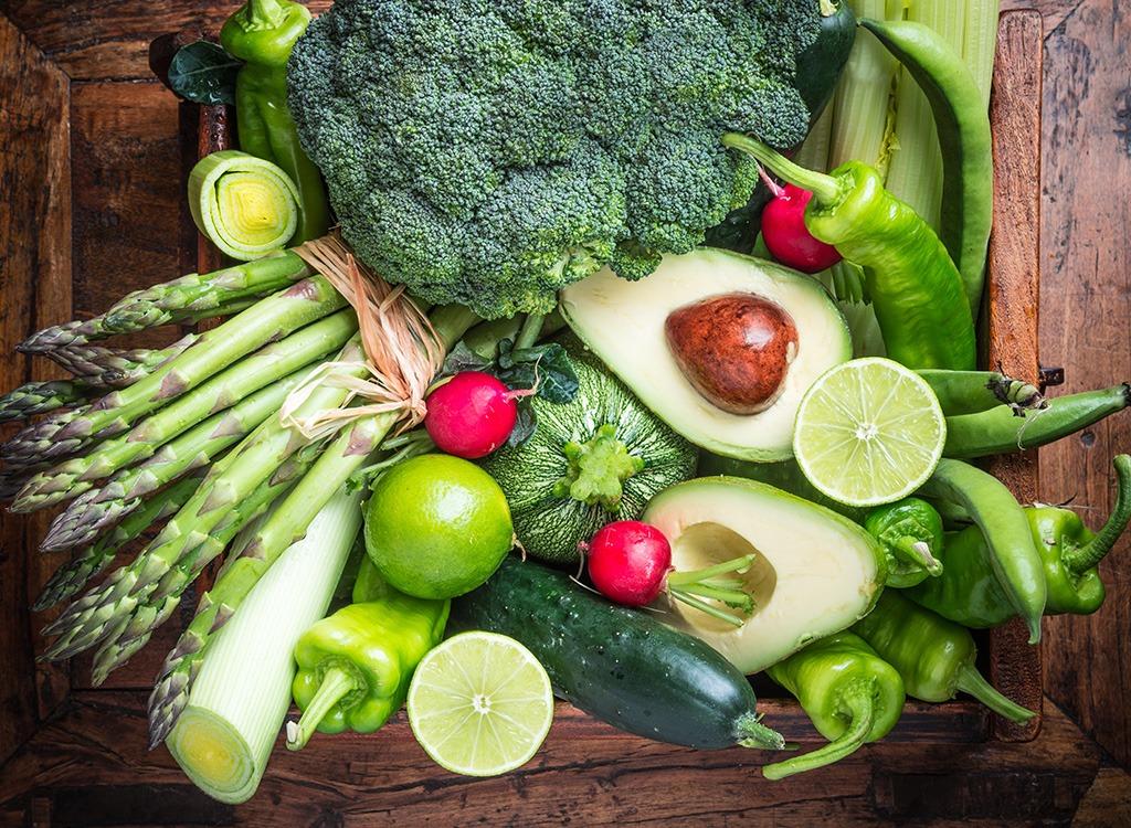 Green produce