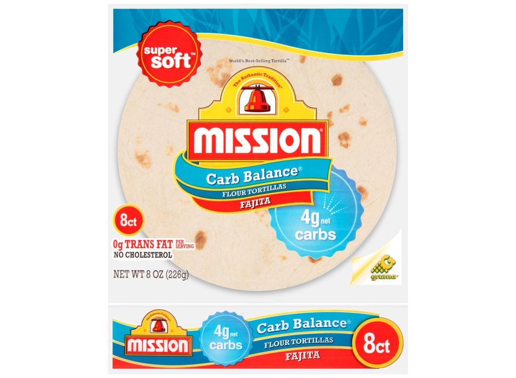 Mission Carb Balance Flour Tortillas