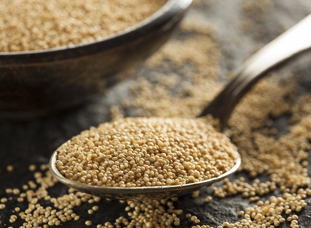 amaranth - calcium rich foods