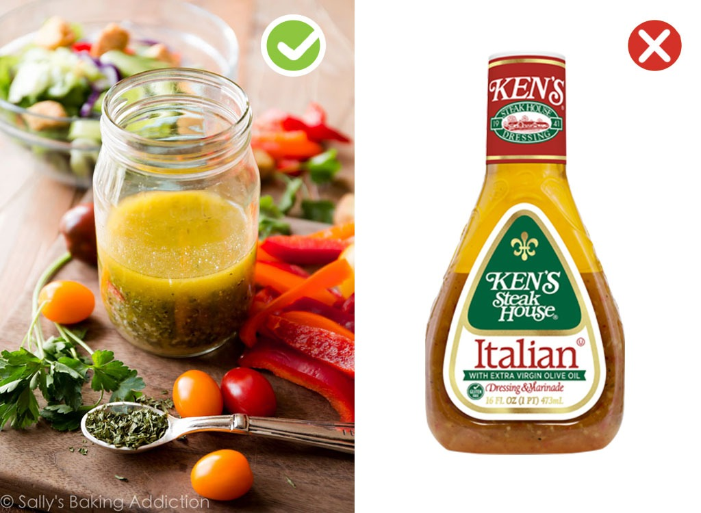 Ultraprocessed homemade swaps dressing