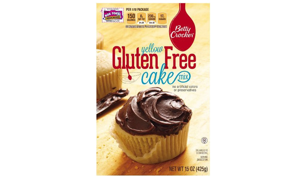 betty crocker yellow gf cake mix