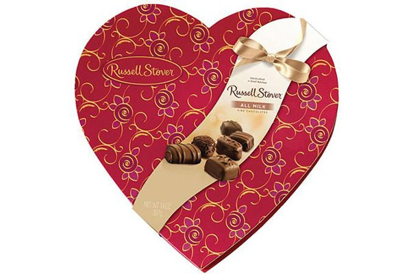 Valentines Candy Ranked Russell Stover All Milk Chocolates