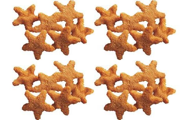 Carls Jr Chicken Stars