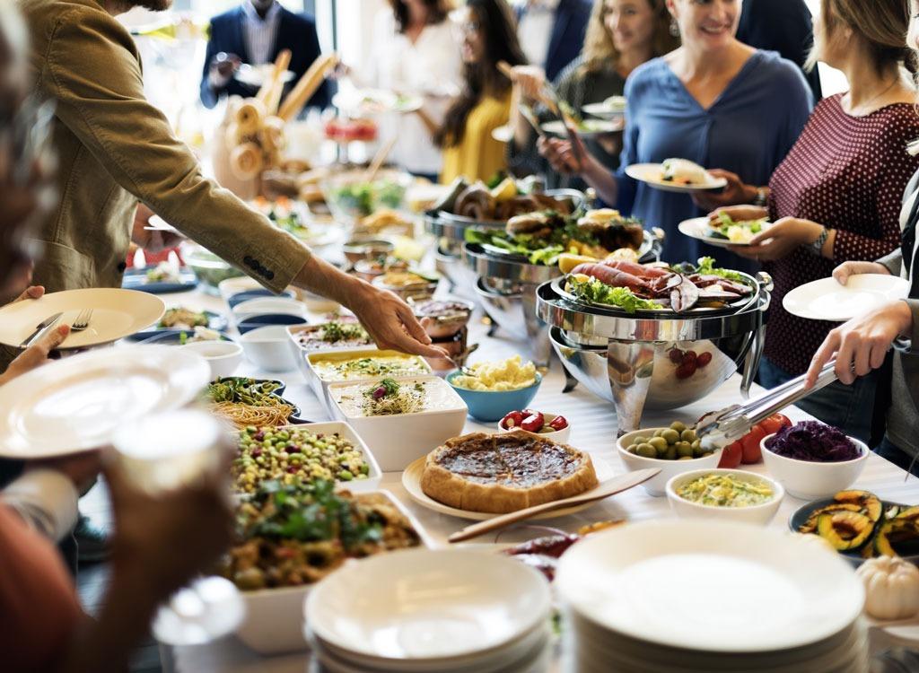 busy buffet