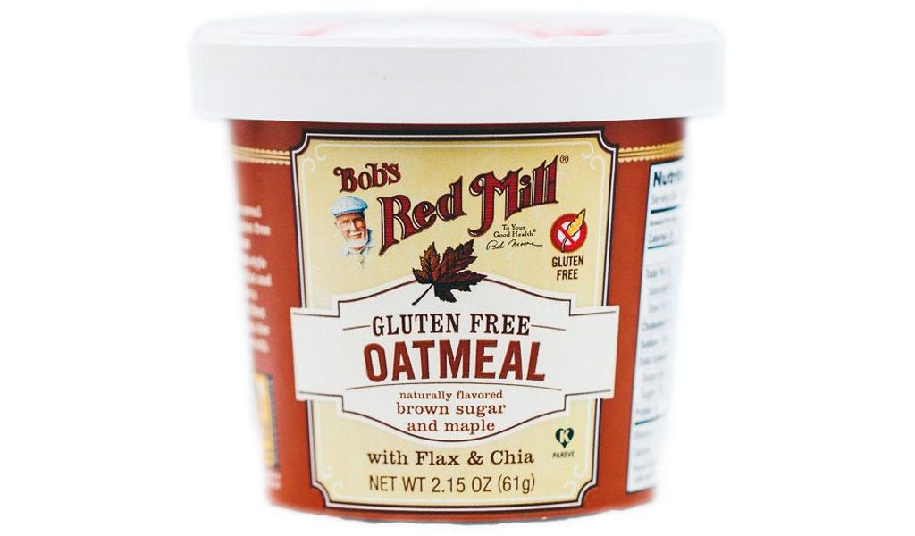 bob's red mill gf brown sugar & maple oatmeal cup