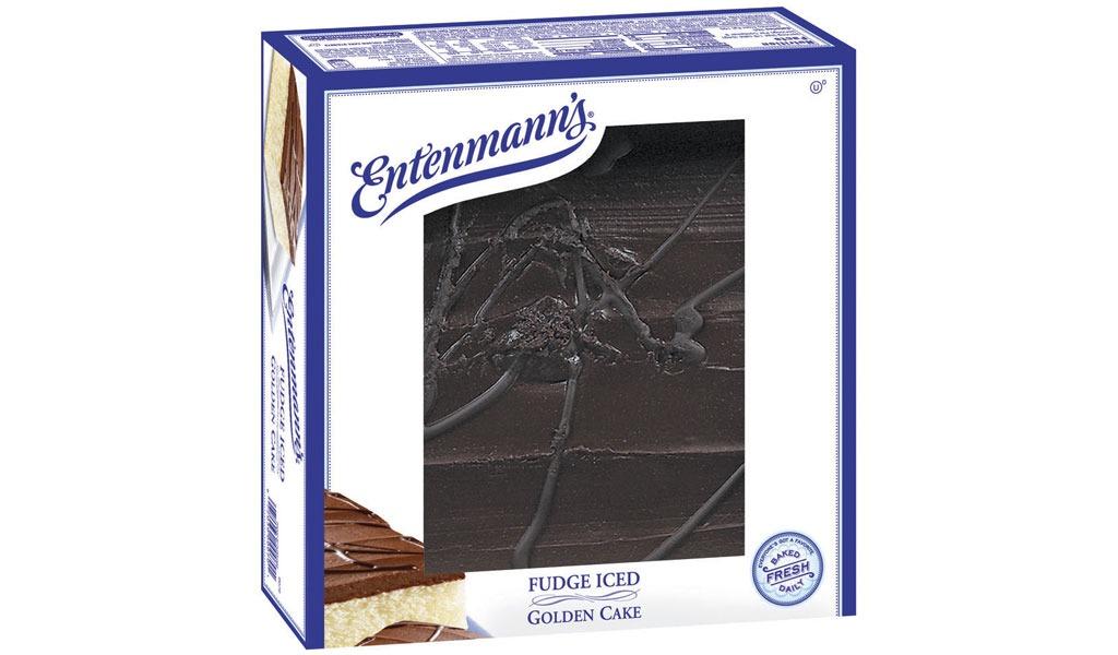 entenmanns cake fudgeicedgolden