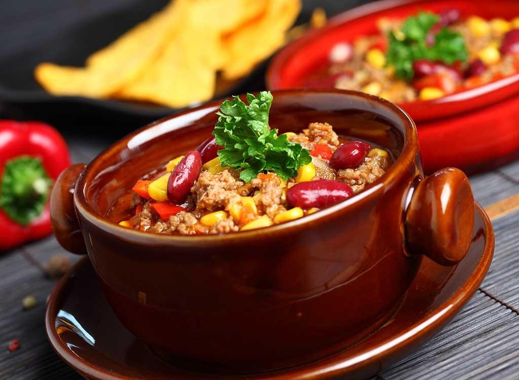chili bowl healthy