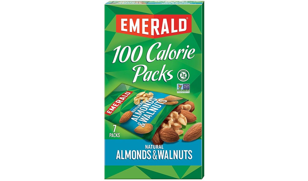 Emerald 100 Calorie Pack Almonds and Walnuts - low carb snacks