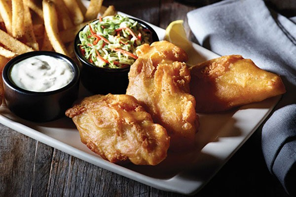 Applebees fish and chips