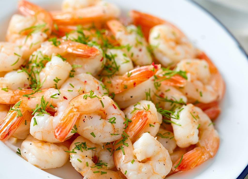 Shrimp spices bowl