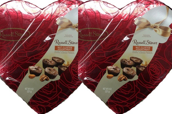 Valentines Candy Ranked Nut Cluster