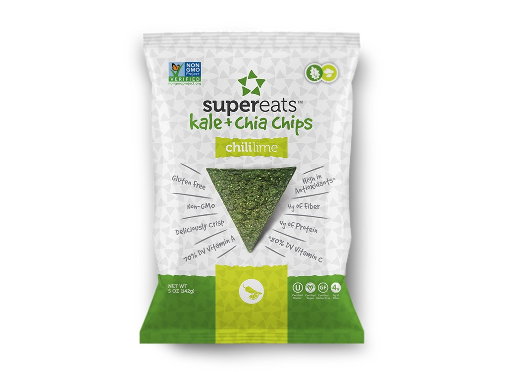 best foods for netflix and chill - supereats kale and chia chips chili lime