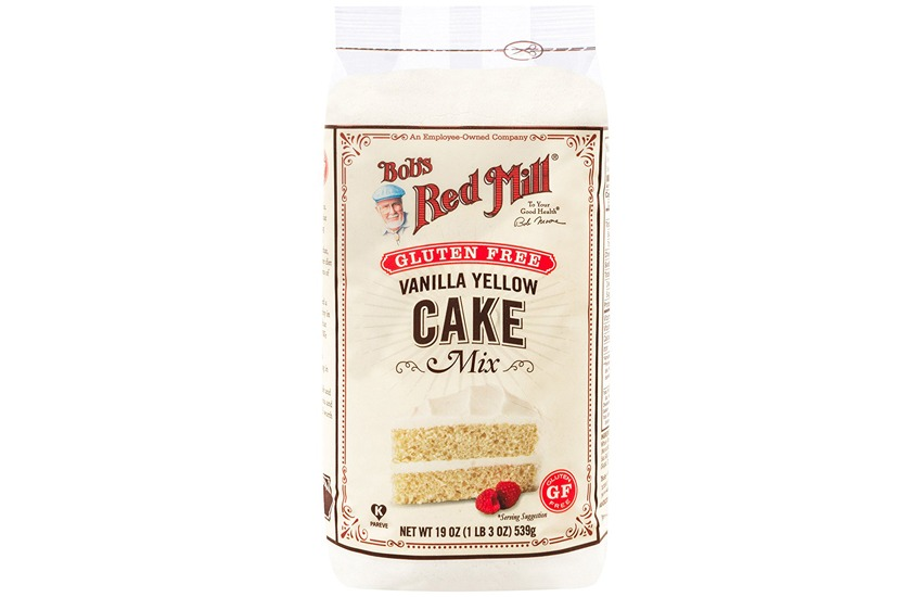 Bobs Red Mill Gluten Free Vanilla Yellow Cake Mix