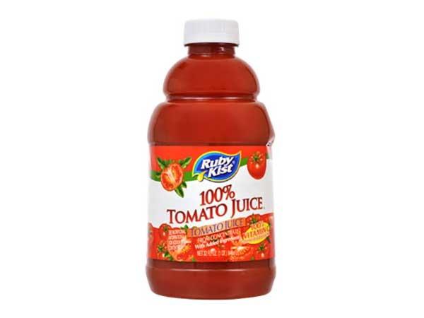 ruby kist 100% tomato juice
