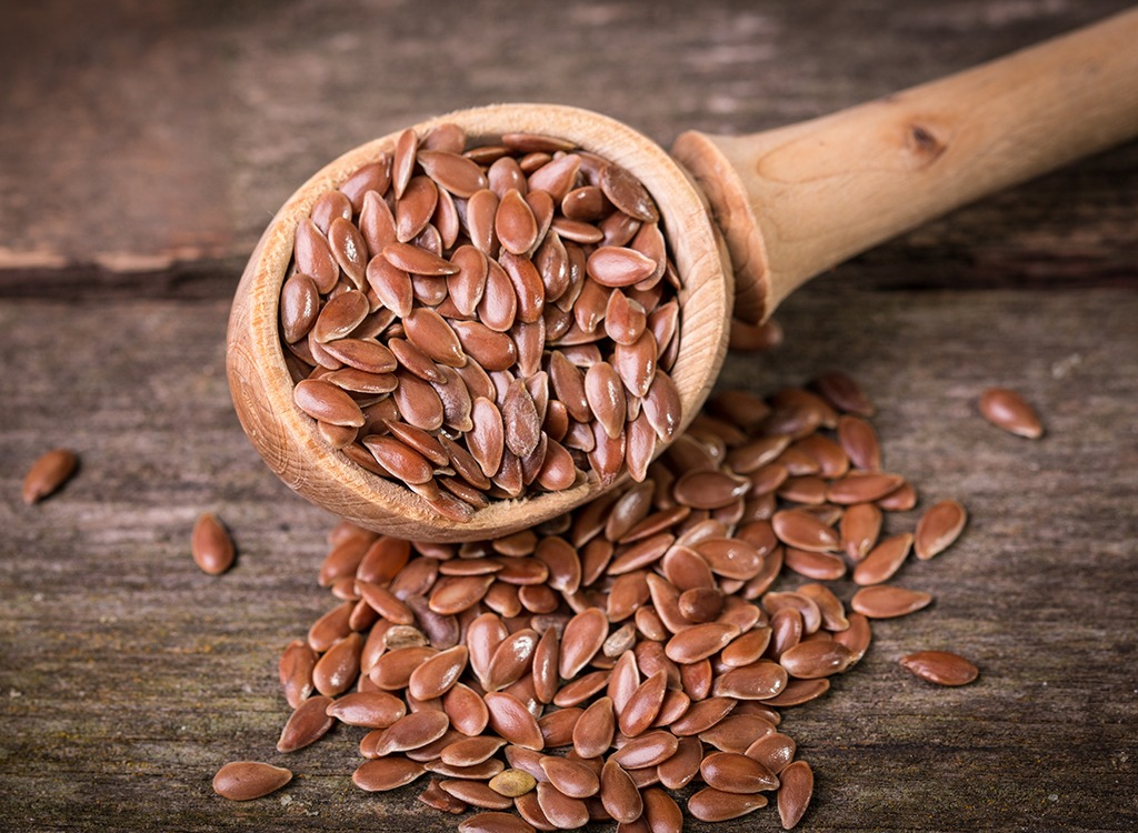 Prepare for nutrition flax seeds