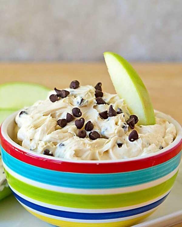 chocolate chip peanut butter pb2 dip