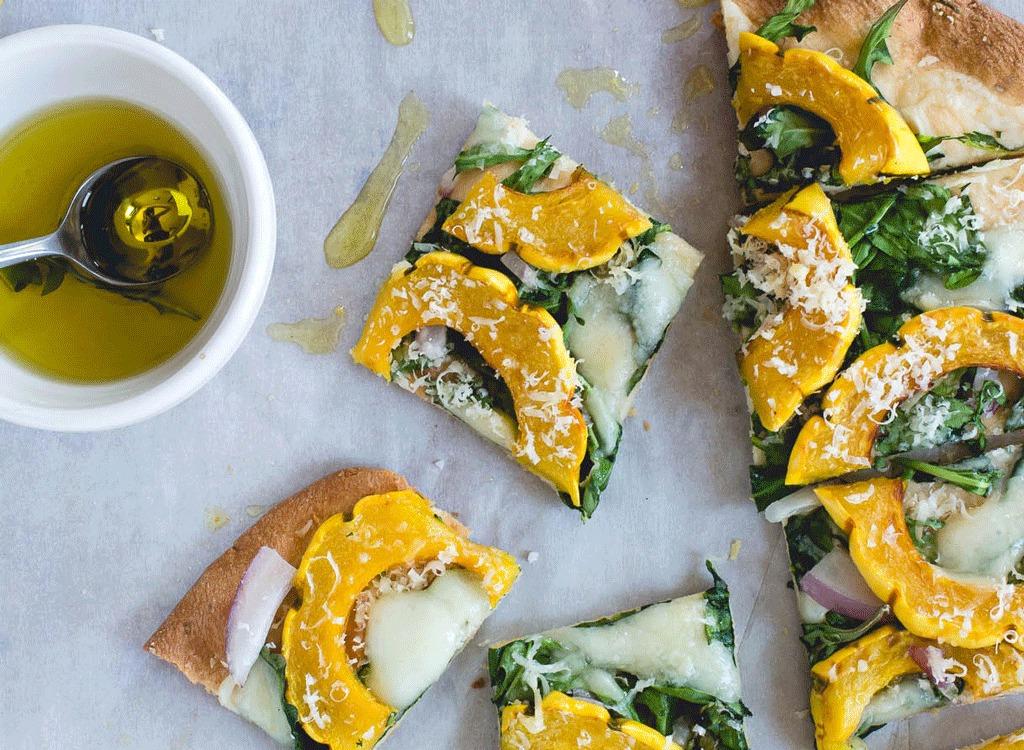 delicata squash pizza
