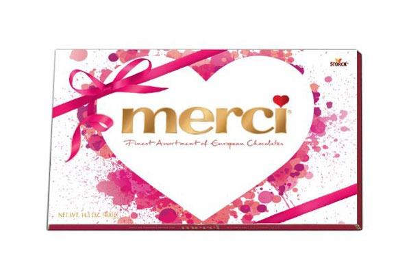 Valentines Candy Ranked Merci box