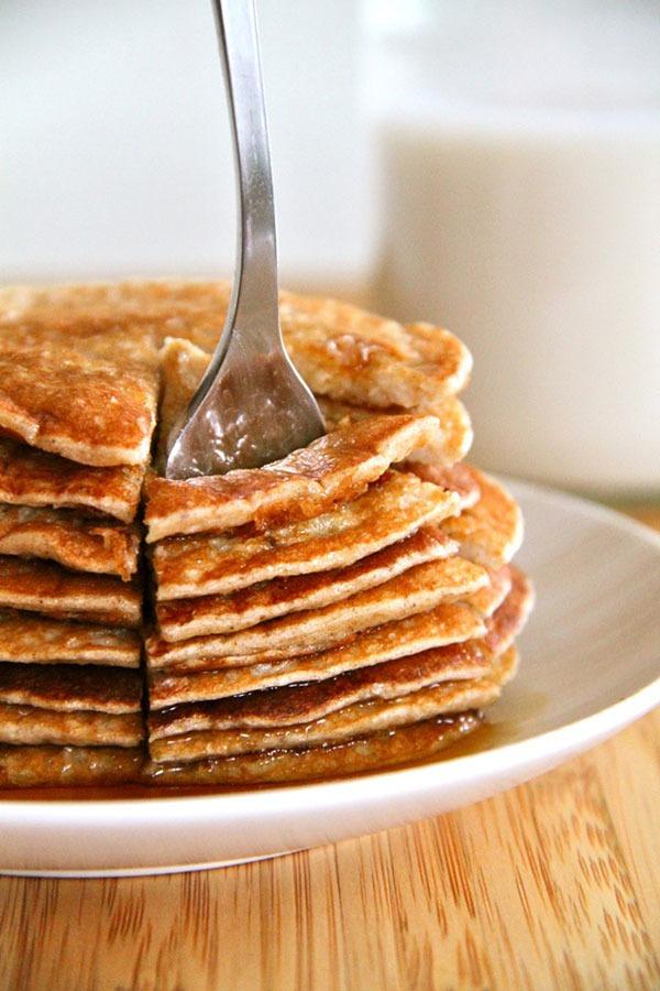 banana oat protein pancake recipe