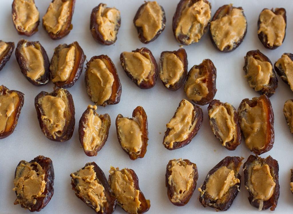 Peanut Butter Stuffed Datess