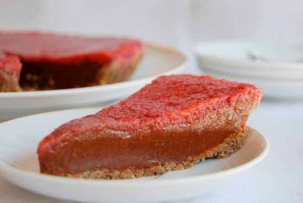 34. Chocolate Sweet potato Pie