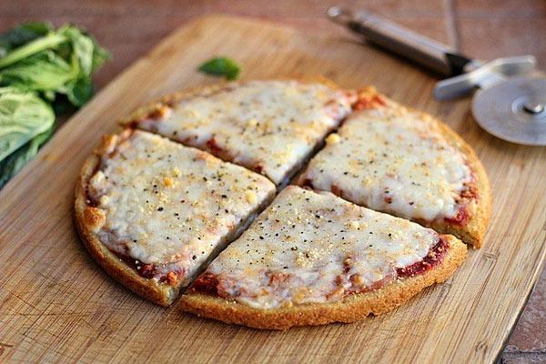 Flourless pizza quinoa
