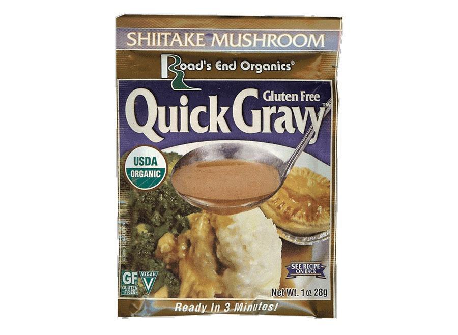 Roads End Organics mushroom gravy