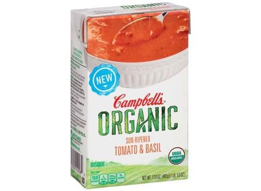Campbell's Organic Sun-Ripened Tomato & Basil