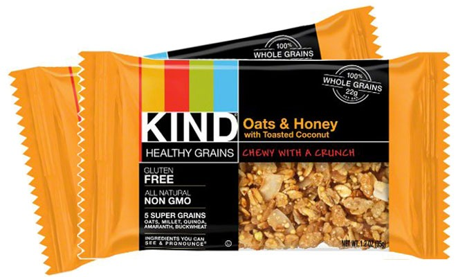 KIND OATS AND HONEY WITH TOASTED COCONUT