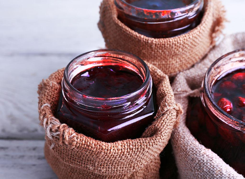 overnight oats homemade jam
