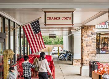 Trader joes flag