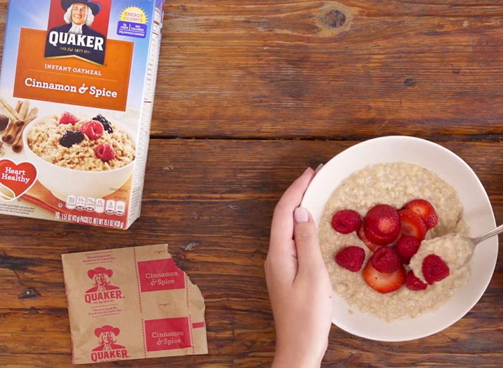 quaker instant oatmeal lead